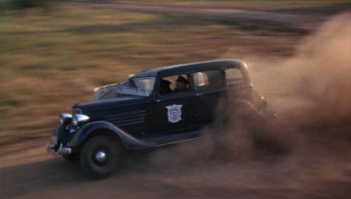 Bonnie Clyde Police Car